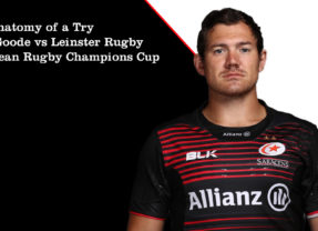 The Anatomy of a Try –  Alex Goode vs Leinster Rugby September 2020